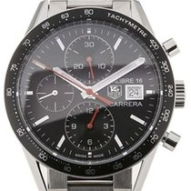 TAG Heuer Carrera Calibre 16 Zeljezo 41mm Crn