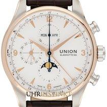 Union Glashütte Aur/Otel 44mm Atomat D904.425.46.017.01 nou
