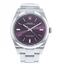 Rolex Oyster Perpetual 39 Staal 39mm Paars