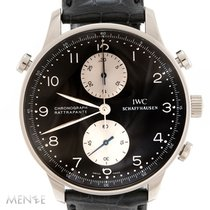 IWC Portuguese (submodel) White gold 41mm Black