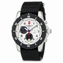 Victorinox Swiss Army Steel 45mm Quartz VICTORINOX new