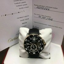 Cartier Calibre de Cartier Diver Acero 42mm Negro