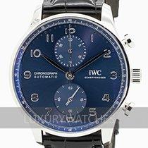 IWC Portuguese Chronograph nouveau 2020 Remontage automatique Chronographe Montre avec coffret d'origine et papiers d'origine IW371606