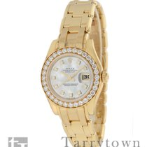 Rolex 80298 Yellow gold Lady-Datejust Pearlmaster 29mm