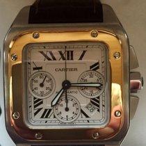 Cartier Santos 100 Сталь