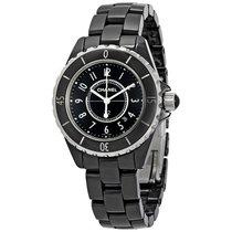 Chanel Ladies H0682 J12 Quartz Black Ceramic Watch