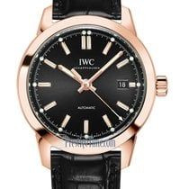 IWC Rose gold Automatic Grey 40mm new Ingenieur Automatic
