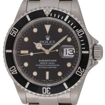 Rolex : Submariner Date :  16610 :  Stainless Steel : black dial