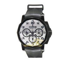 Corum Cronografo Automatico 2017 usato Admiral's Cup Challenger Bianco