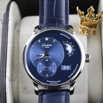 格拉苏蒂 1-90-02-46-32-35  PanoMaticLunar  Blue Dial