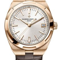 Vacheron Constantin Rose gold Automatic Silver 41mm new Overseas