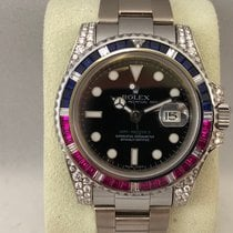 Rolex 116759SARU Or blanc 2013 GMT-Master II 40mm occasion