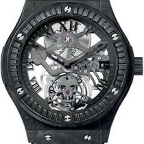 Hublot Classic Fusion TOURBILLON BLACK SKULL WATCH