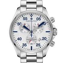 Hamilton Khaki Pilot Steel 44mm Blue United States of America, New Jersey, Cherry Hill