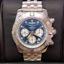 Breitling Chronomat 44 Blue Dial - Serviced by Breitling