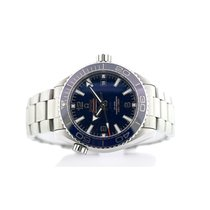 Omega Seamaster Planet Ocean Steel 43.5mm Blue Arabic numerals United States of America, New York, New York
