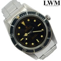 Rolex 5508 Acero Submariner (No Date) escluso corona 37mm