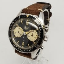 Heuer Steel 39mm Manual winding 3646 pre-owned