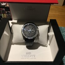 Tissot Chronograf 43mm Automatyczny 2013 używany Couturier Czarny