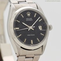 Rolex Oyster Precision Steel 34mm Black No numerals United States of America, California, Beverly Hills