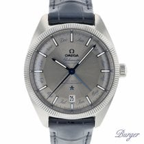 Omega Steel Automatic Silver 41mm new Globemaster