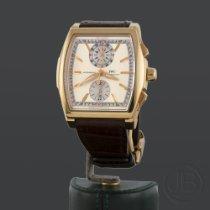 IWC Da Vinci Chronograph usados 43.5mm Plata Cronógrafo Fecha Piel