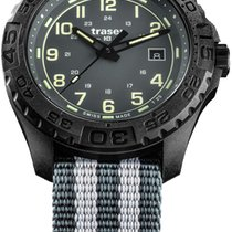 Traser 44mm Χαλαζίας P96 OdP Evolution Grey, Natoband SWISS MADE mens watch καινούριο