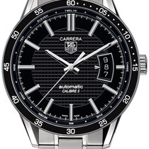 TAG Heuer Carrera Calibre 5 Steel 39mm Black United States of America, California, Moorpark