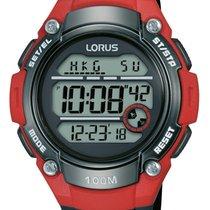Lorus Plastic Quartz Black 46mm new