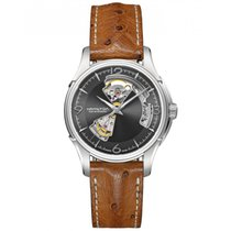 Hamilton Jazzmaster Open Heart Acier 40mm Noir France, Paris