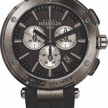 Michel Herbelin Newport (submodel) Steel 43mm Black No numerals