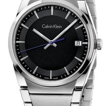 ck Calvin Klein Aluminum 38mm Quartz K6K31143 new