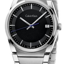 ck Calvin Klein Aluminum Quartz Grey 38mm new