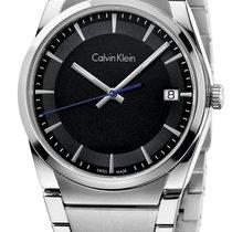 ck Calvin Klein Aluminum Quartz Grey 38mm new