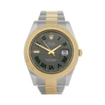 Rolex Datejust II Gold/Steel 41mm Grey Roman numerals United Kingdom, Bishop's Stortford