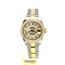 Rolex Oyster Perpetual Lady Date Gold/Steel 26mm Mother of pearl United States of America, Florida, Key Largo