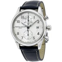 Frederique Constant Runabout Chronograph Steel 42mm Silver Arabic numerals United States of America, New Jersey, Somerset