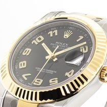 Rolex Datejust II Steel 41mm Black Roman numerals United States of America, Georgia, Atlanta