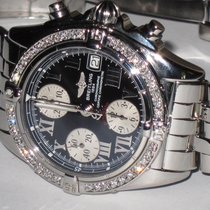 Breitling Chrono Cockpit Steel 39mm Black Roman numerals United States of America, New York, NEW YORK CITY
