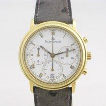 Blancpain Villeret Chronograph 18k Gold Chronograph Automatic