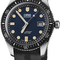 Oris Divers Sixty Five Steel Blue United States of America, New York, Brooklyn