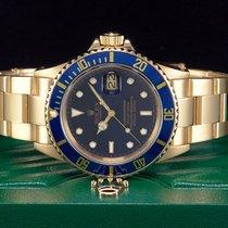 Rolex Submariner Date 18KT. Gold Ref. 16808  NEUE REVISION