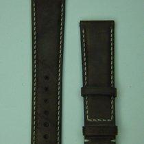 제니트 (Zenith) 21/18mm Brown Calf Strap with Rubber Reverse Side