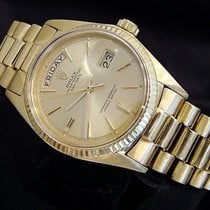 Rolex 18k Gold Day-date President Champagne 1803