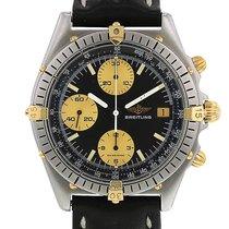 Breitling Chronomat en plaqué or et acier Ref : 81950 Vers 1990