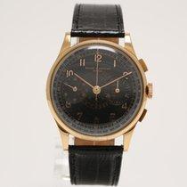 Baume & Mercier Vintage Chronograph 18K Yellow Gold...