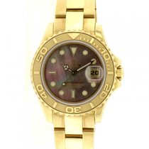 Rolex | Yacht-Master Lady, 18kt Yellow Gold and Mother-of-pear...