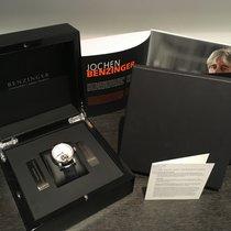 Benzinger nieuw Handopwind Geskeletteerd Limited edition 42mm Staal Saffierglas