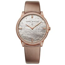 Harry Winston Midnight Rose gold 39mm No numerals