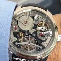 Greubel Forsey 47.5mm Handaufzug neu Double Tourbillon 30°